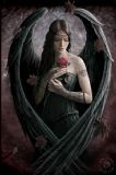 ANNE STOKES- ANGEL ROSE 3D BOOKMARK